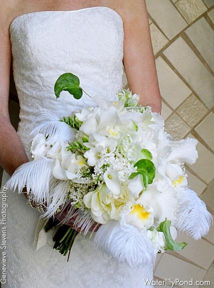 Extravagantne kytice a pierka - Obrázok č. 33