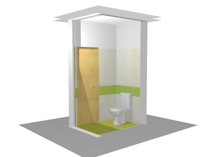 Vizualizacia kupelne - 1.vizualizacia - WC