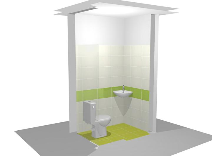 Vizualizacia kupelne - 1. vizualizacia - WC