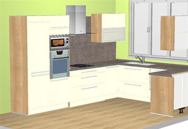 Navrhy kuchyn - 1. navrh - Decodom (nazivo je ta kombinacia super!!! - len skoda vysky linky..)