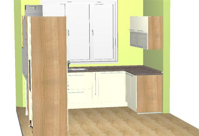 Navrhy kuchyn - 1. navrh - Decodom (nazivo je ta kombinacia super!!! - len skoda vysky linka..)
