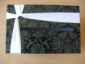 Krabice na přání,výroba já sama :-)