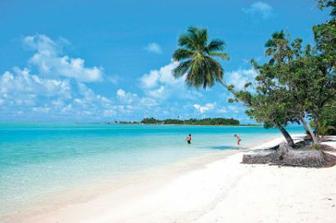 Our honeymoon island!