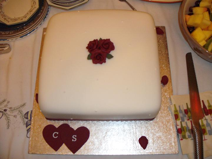 Engagement Party - The Cake - Chocolate Sponge Gluten Free Cake, Suitable for nut allergies (we have them all in our lot!)