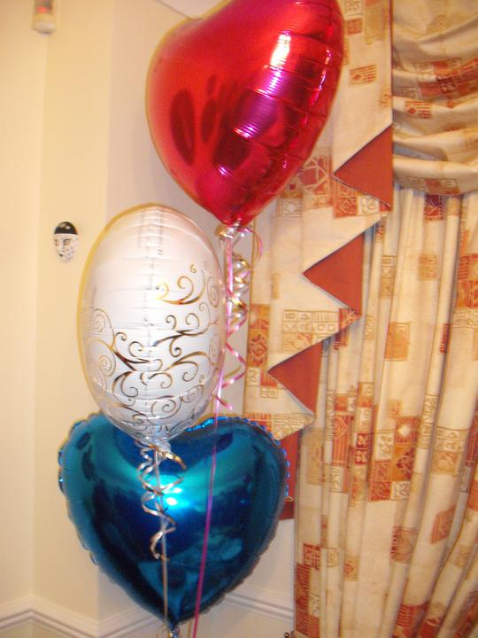 Engagement Party - Balloons!