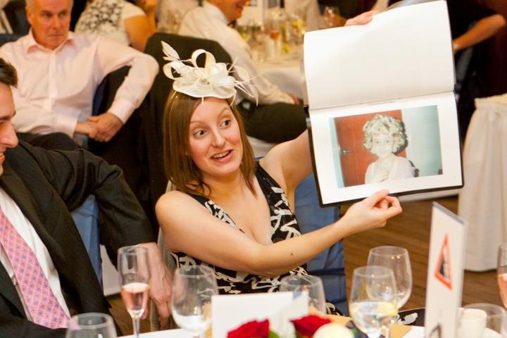 Chloé{{_AND_}}Steve - Part of the Best Man Speech - embarrassing photos of hubby being shared with everyone!