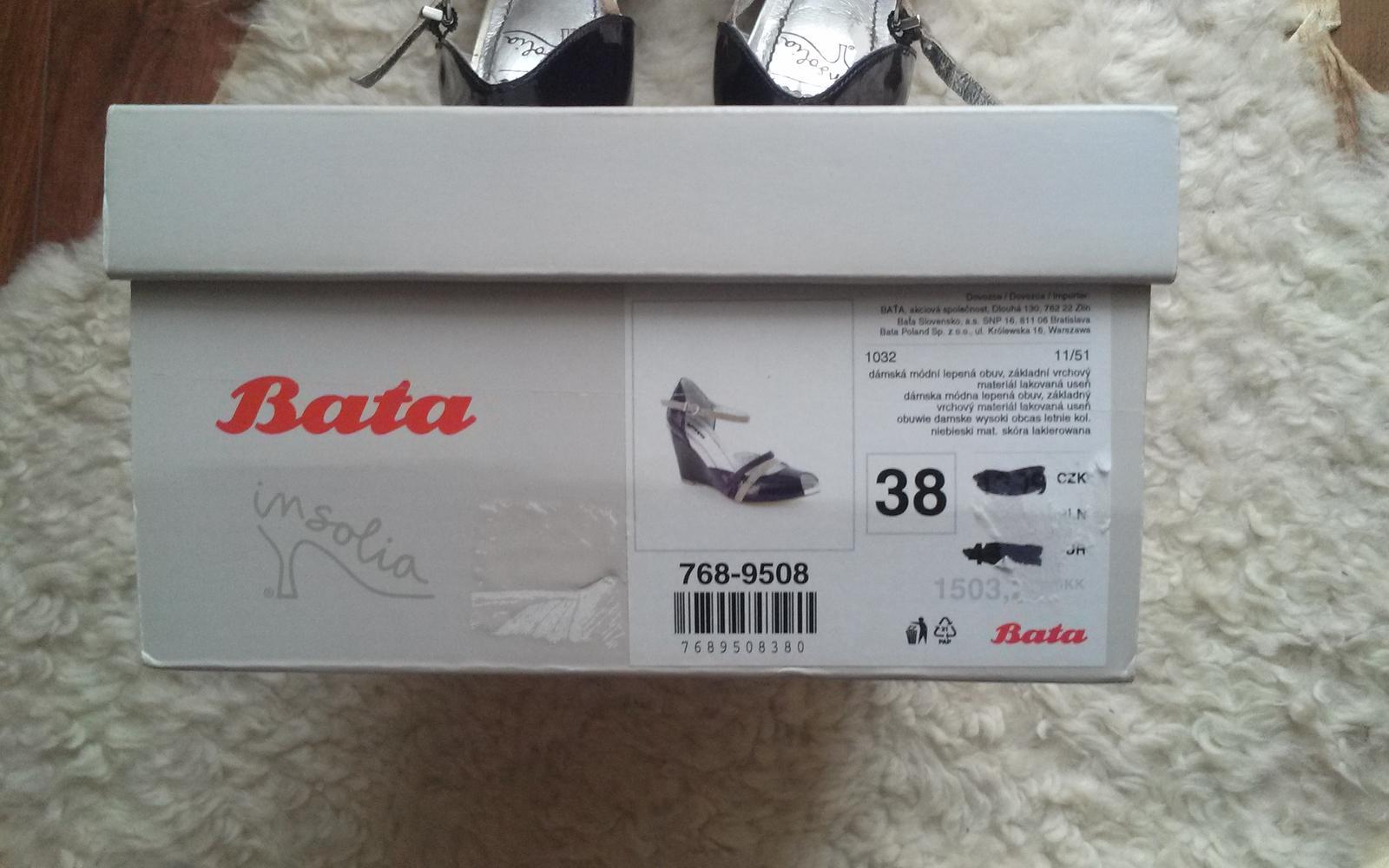 baťa-damske sandalky (38) - Obrázok č. 4