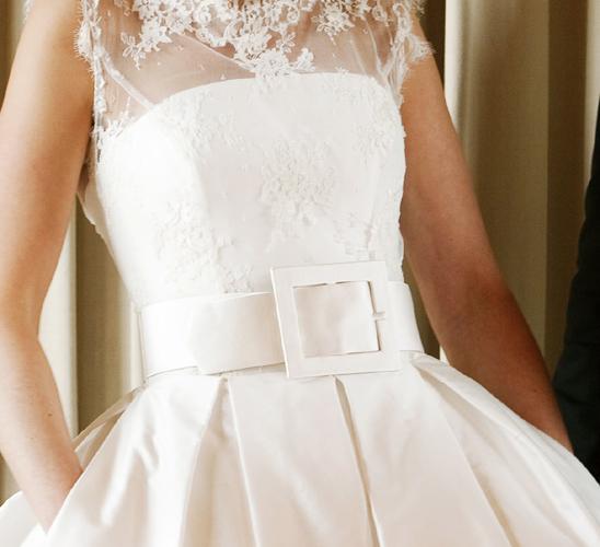 Naše malá puntíkovaná svatba - velký páseček :)