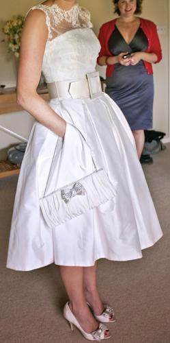 Naše malá puntíkovaná svatba - šaty budou určitě krátké ...