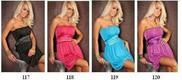 Šaty pro družičky, univerzální velikost, 4 barvy, 134