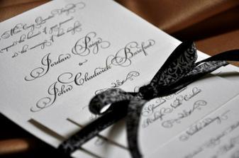Nepoužito, ale možná inspirace pro další nevěsty