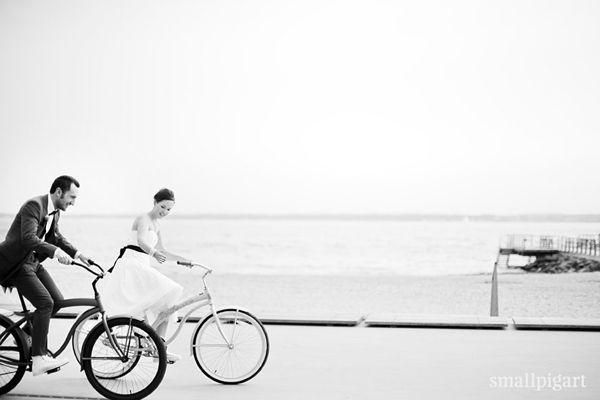 Vive la France - inspirace - Pro nás asi ne, ale inspirace pro foto pro jiné nevěsty :)