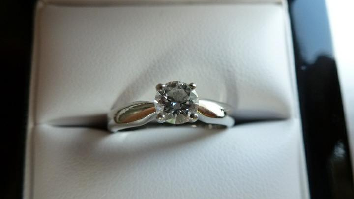 Vive la France - co již máme/budeme mít - Zásnubní prstýnek