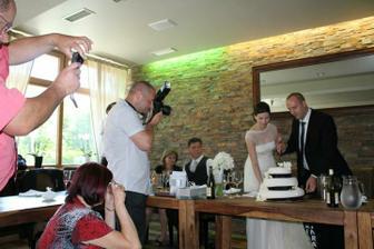 Foceno dalším svatebčanem :)