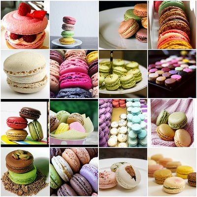 Vive la France - co již máme/budeme mít - Francouzské les macarons budou