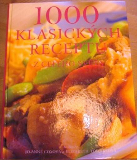 Kniha 1000 receptů z celého světa - Obrázok č. 1