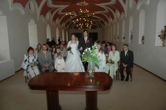 fotek při obřadu