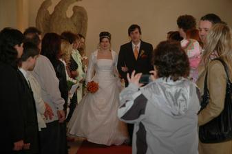 už svoji...novomanželé Ganzwohlovi