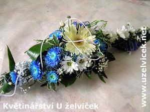 taky pěkná kombinace modré s bílou na stůl