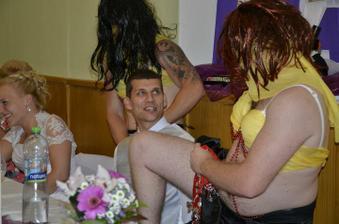 Salime a Fatime - vybírání na hostině... jeho zaslíbené nevěsty...