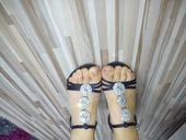 Strasove sandalky , 39