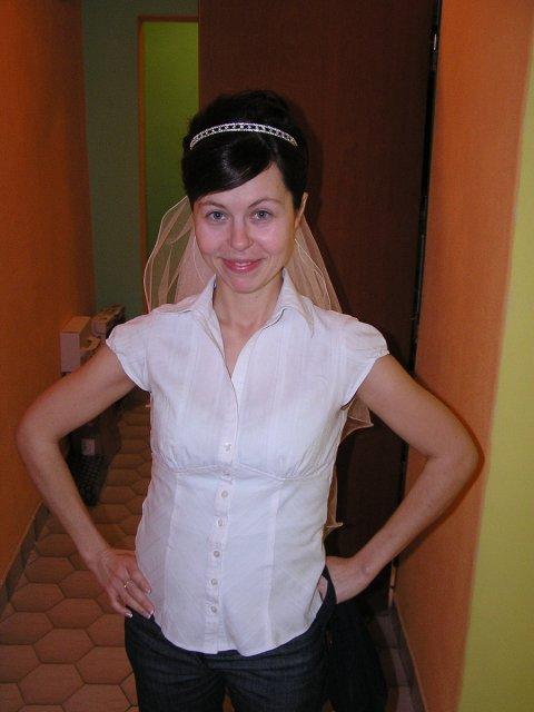 Norika Kišová{{_AND_}}Peter Adamec - moja podoba po úprave vlasov ale ešte bez make-upu