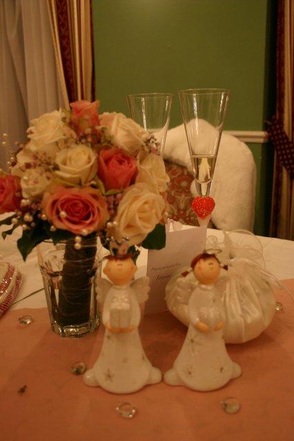 Norika Kišová{{_AND_}}Peter Adamec - naša výzdoba na svadobnom stole
