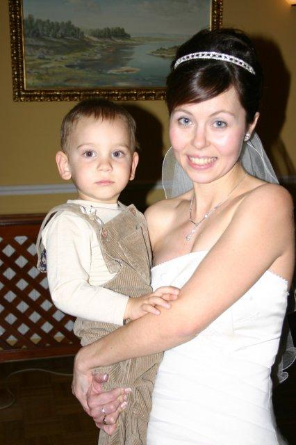 Norika Kišová{{_AND_}}Peter Adamec - s našim malým Šimonkom