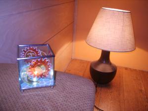 Andělské osvětlení..detail: je třeba olištovat podlahu ..
