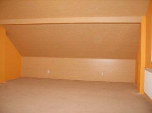 šikmina v levo  postele-sever