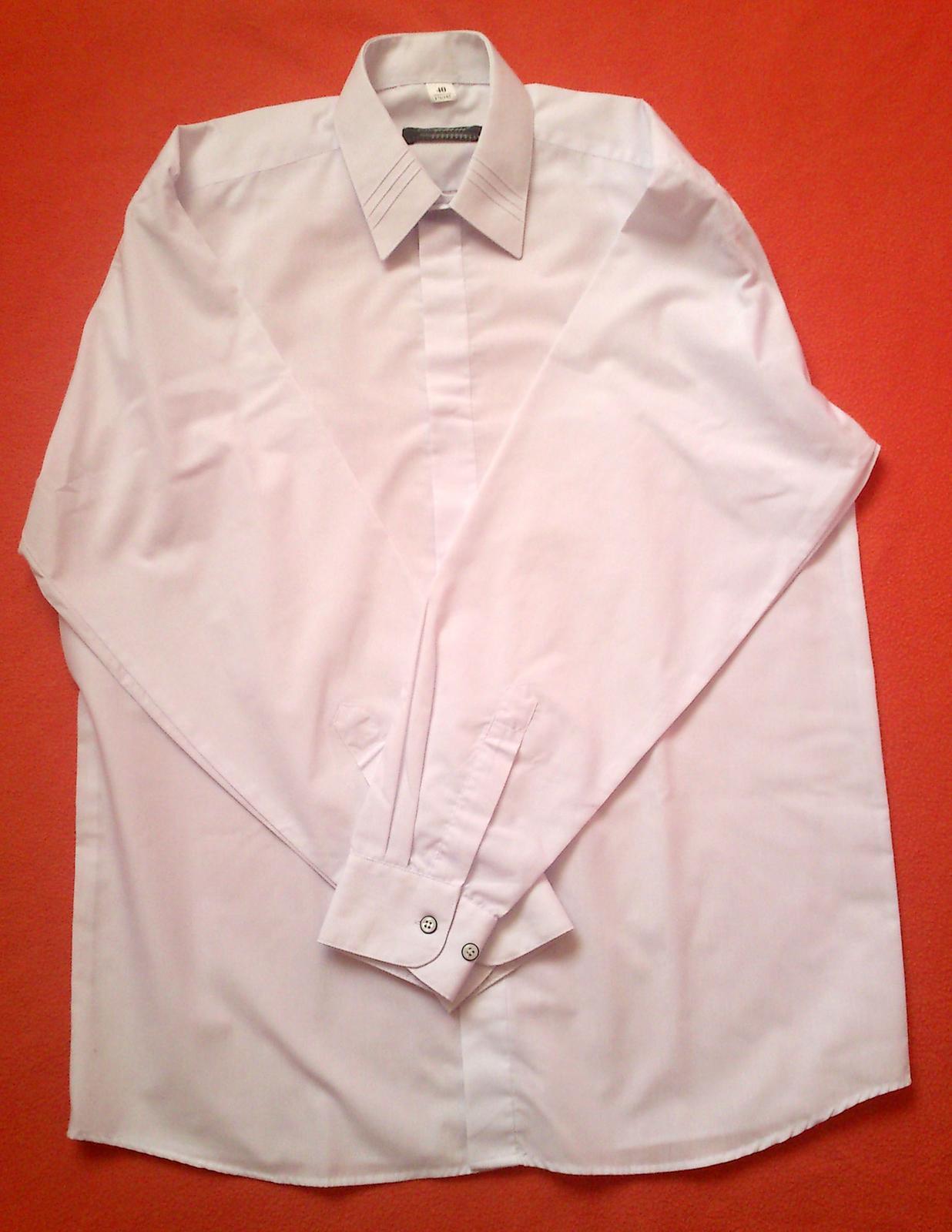 pánska svadobna košeľa - Obrázok č. 4