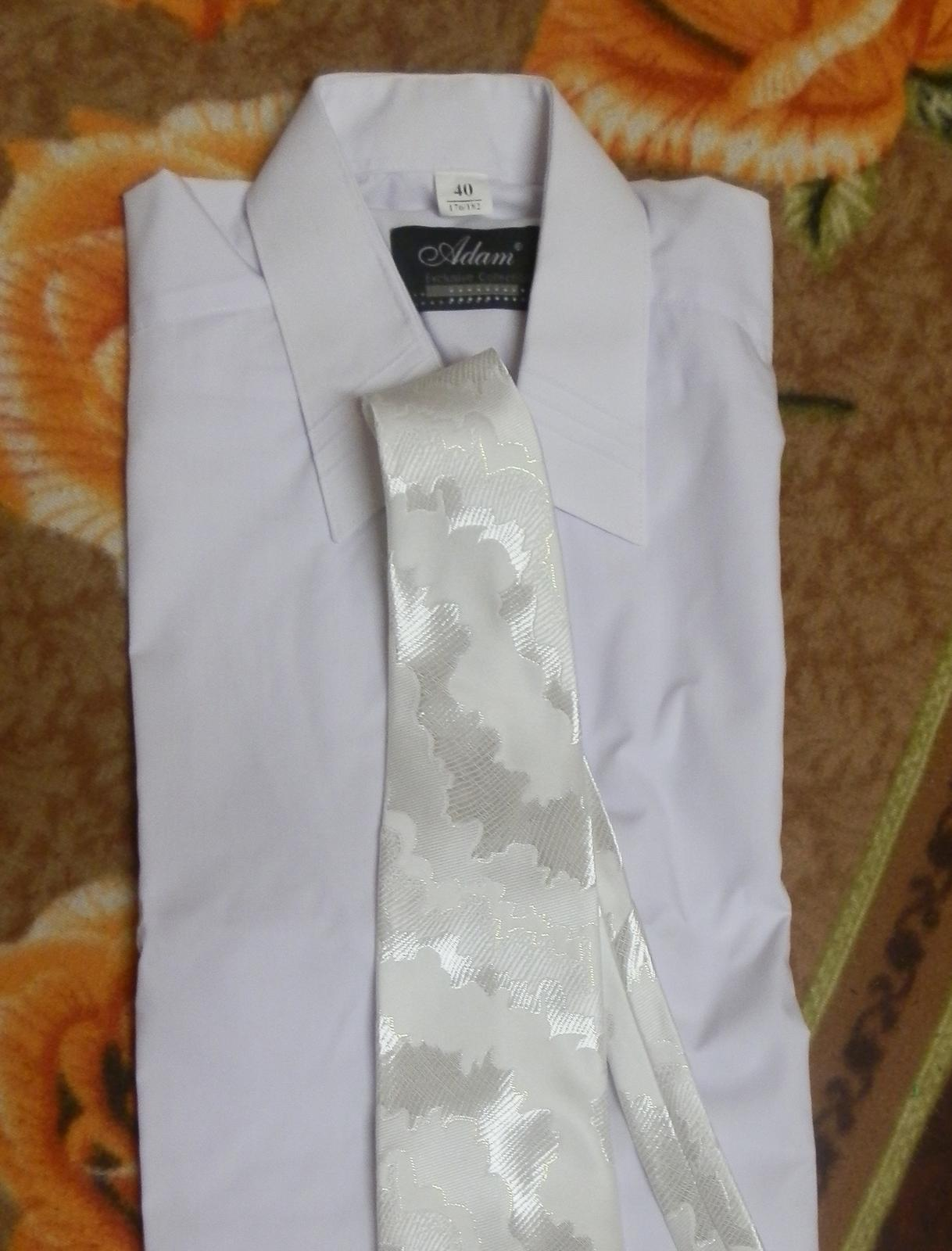 pánska svadobna košeľa - Obrázok č. 1