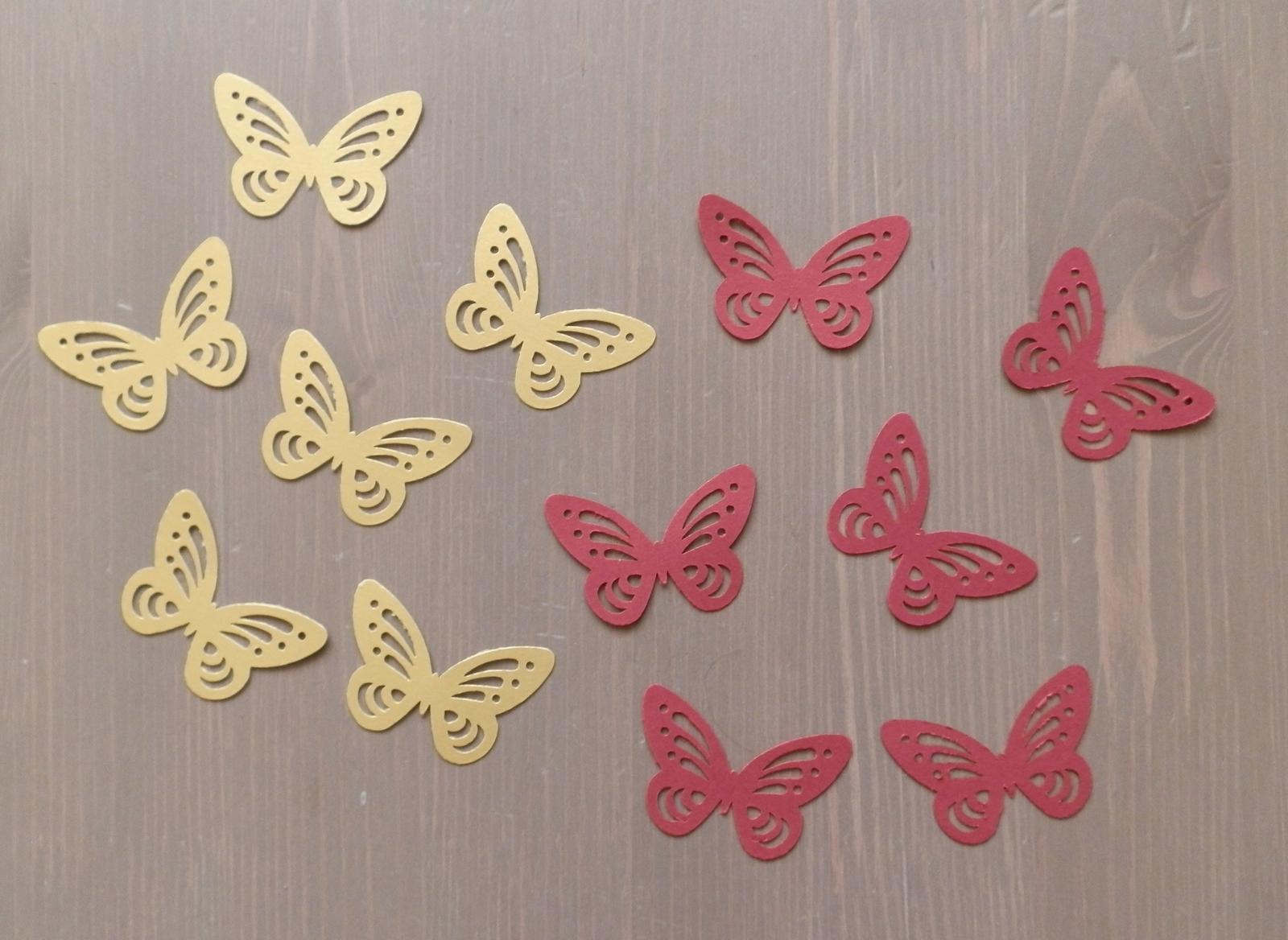3d dierkovany motyl - Obrázok č. 1