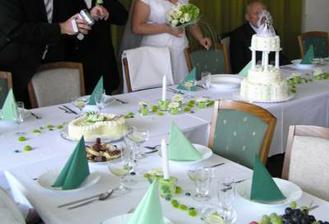 Svatba bude dozelena (fotku jsem vzala z alba...promiň)