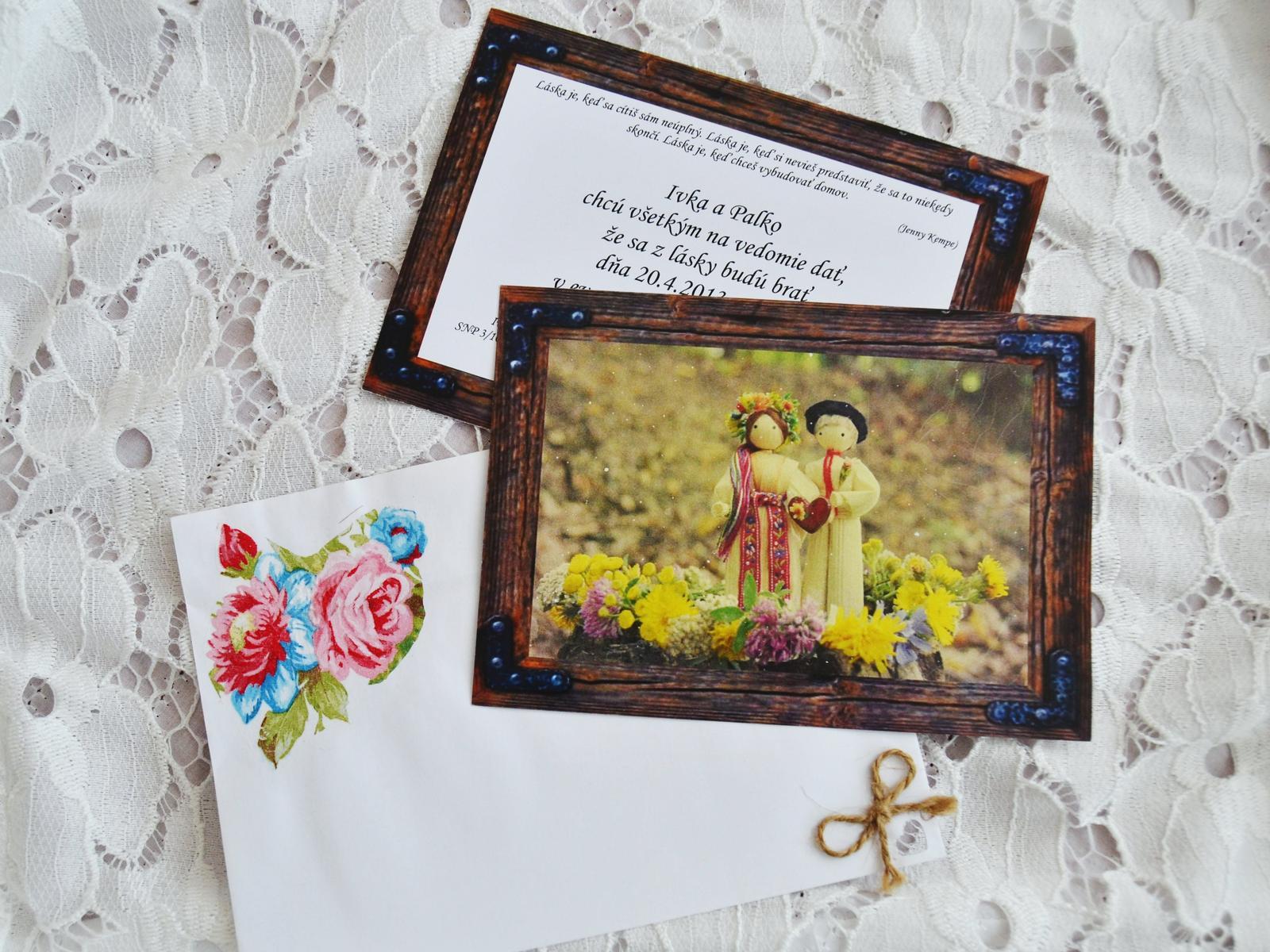 2ecf9ba214d8 Ukážte Vaše svadobné oznámenia - - Svadobné oznám...