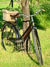 ...náš vynovený bicykel