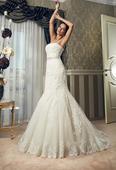 svatební šaty 34/36 značkové svatební šaty, 34