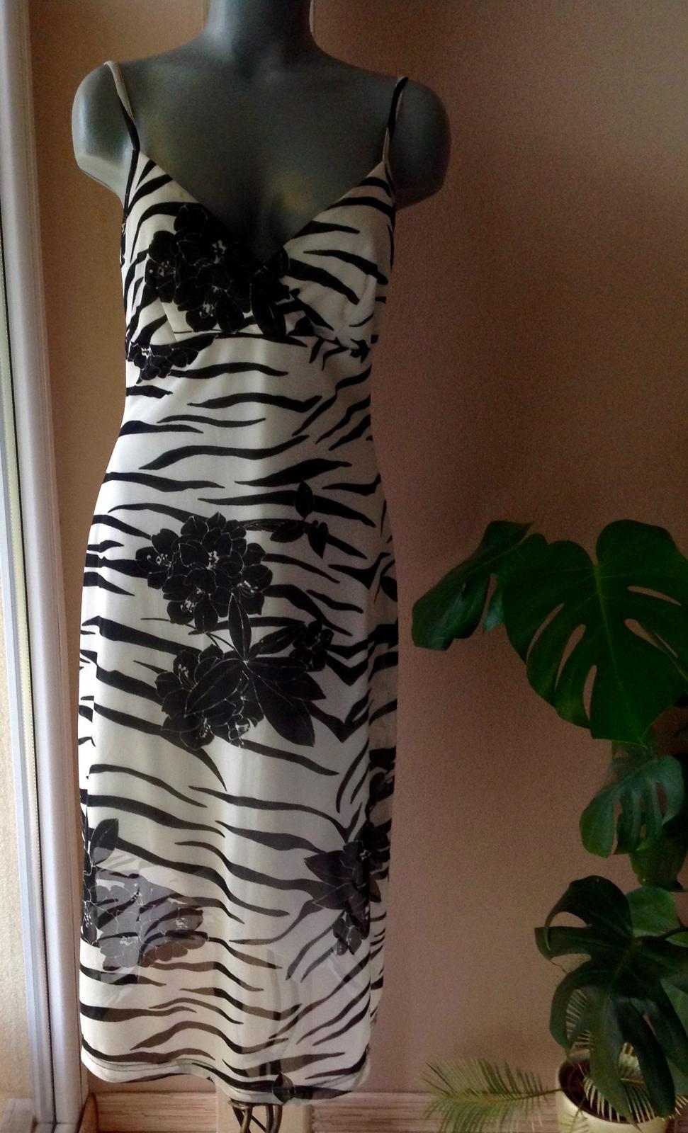 Pružné šaty oasis - Obrázok č. 1
