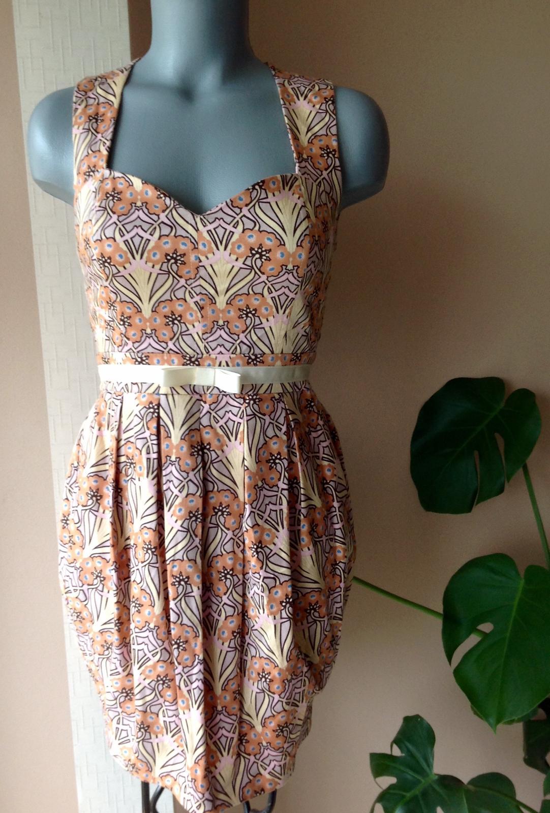 Nenosené šaty miss selfrigde - Obrázok č. 1