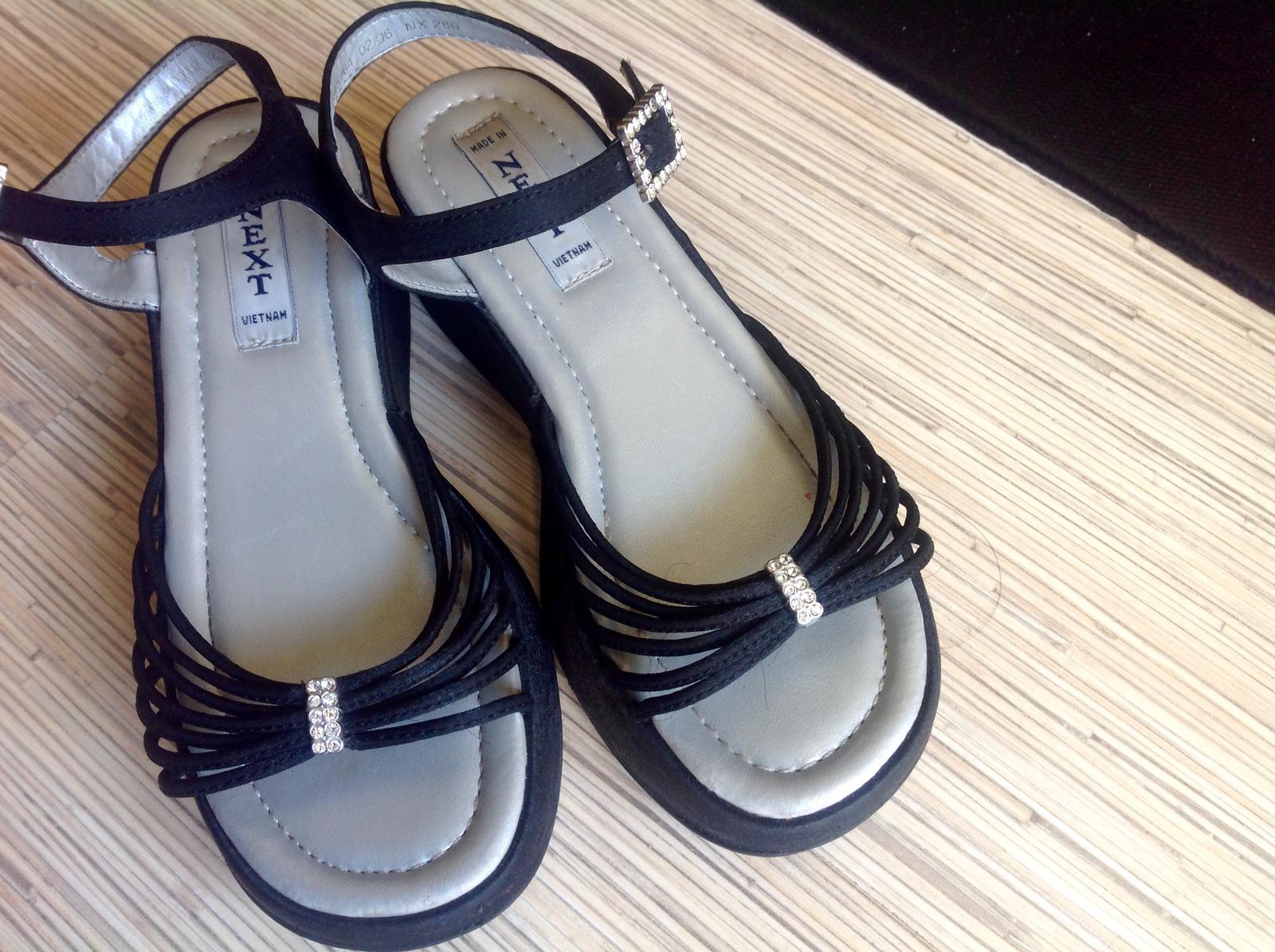 Satenove sandalky next - Obrázok č. 1
