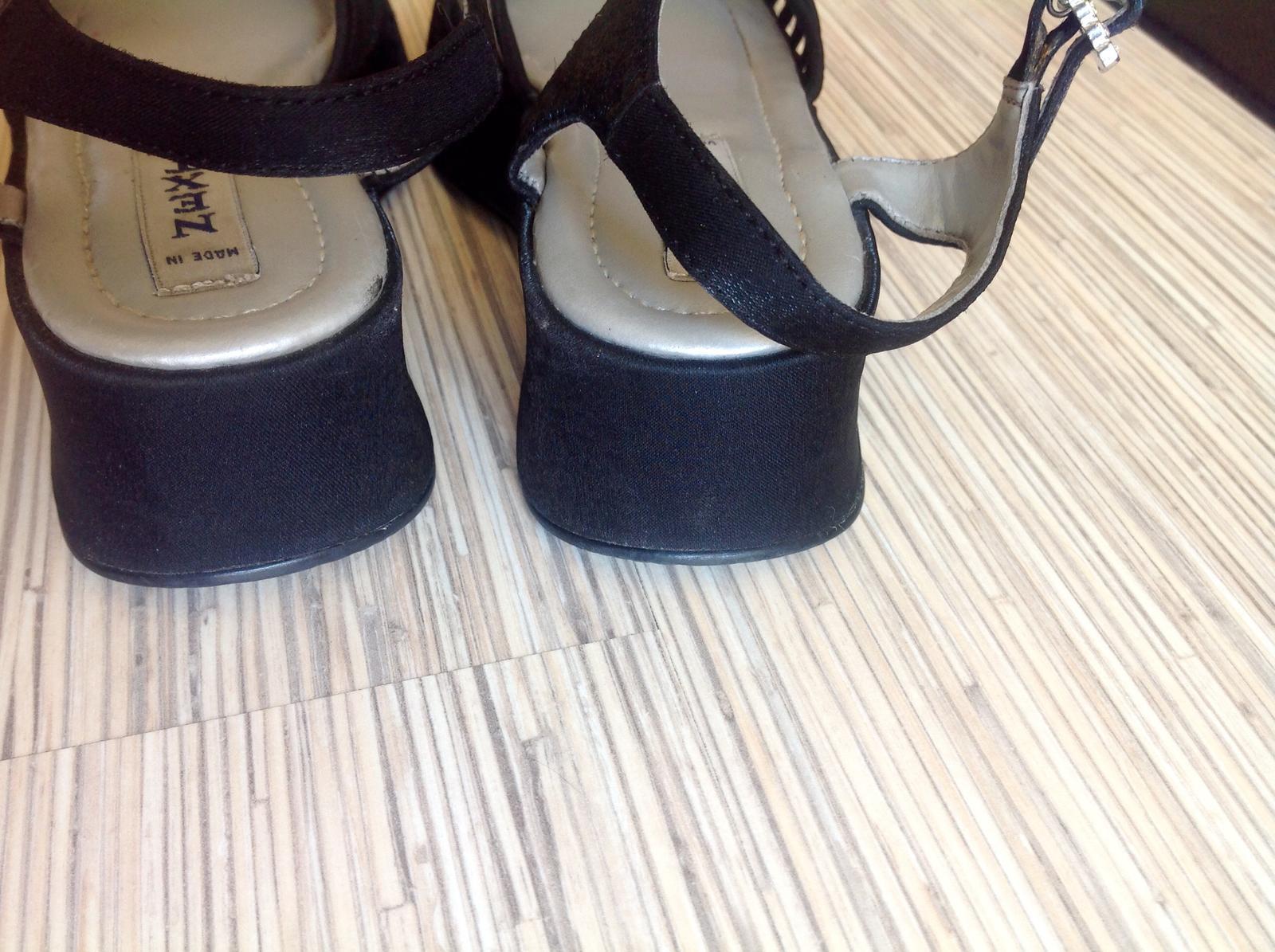 Satenove sandalky next - Obrázok č. 4