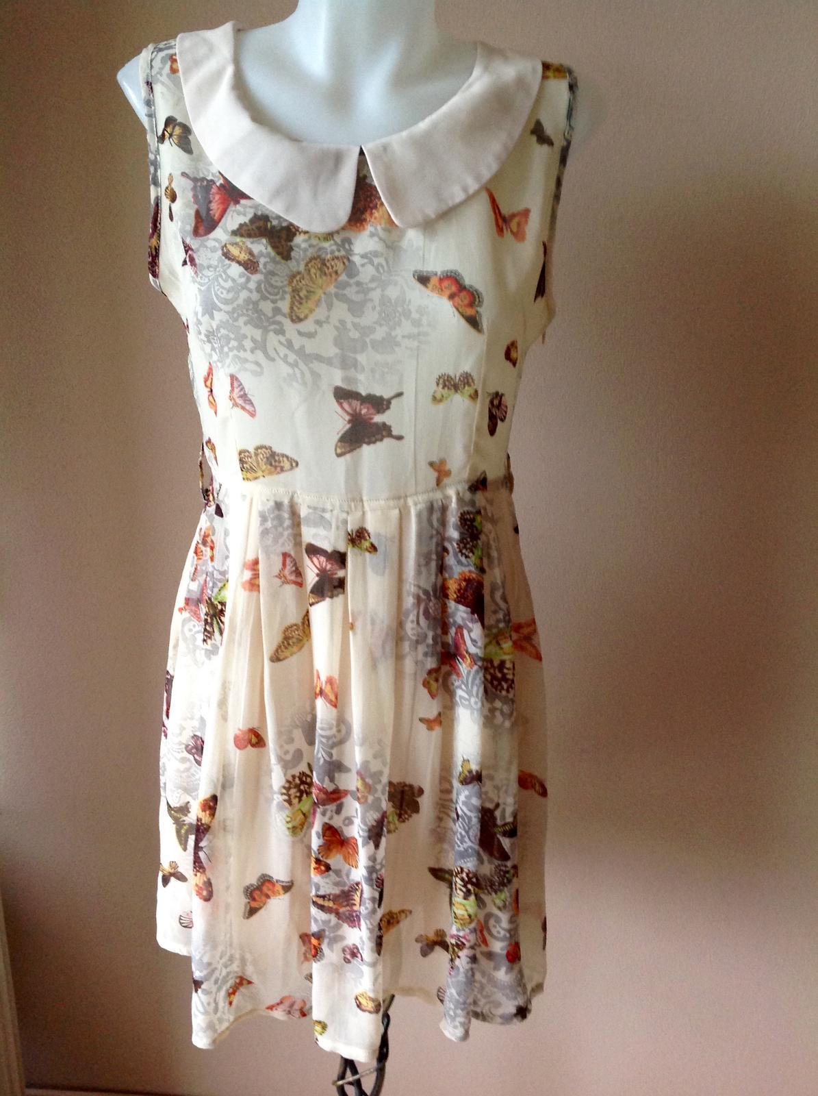 Motylíkové šaty - Obrázok č. 1
