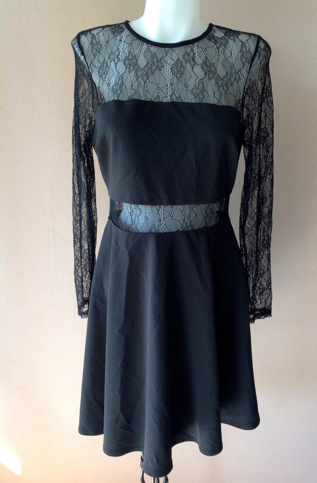 Šaty s čipkou 40/42 - Obrázok č. 1
