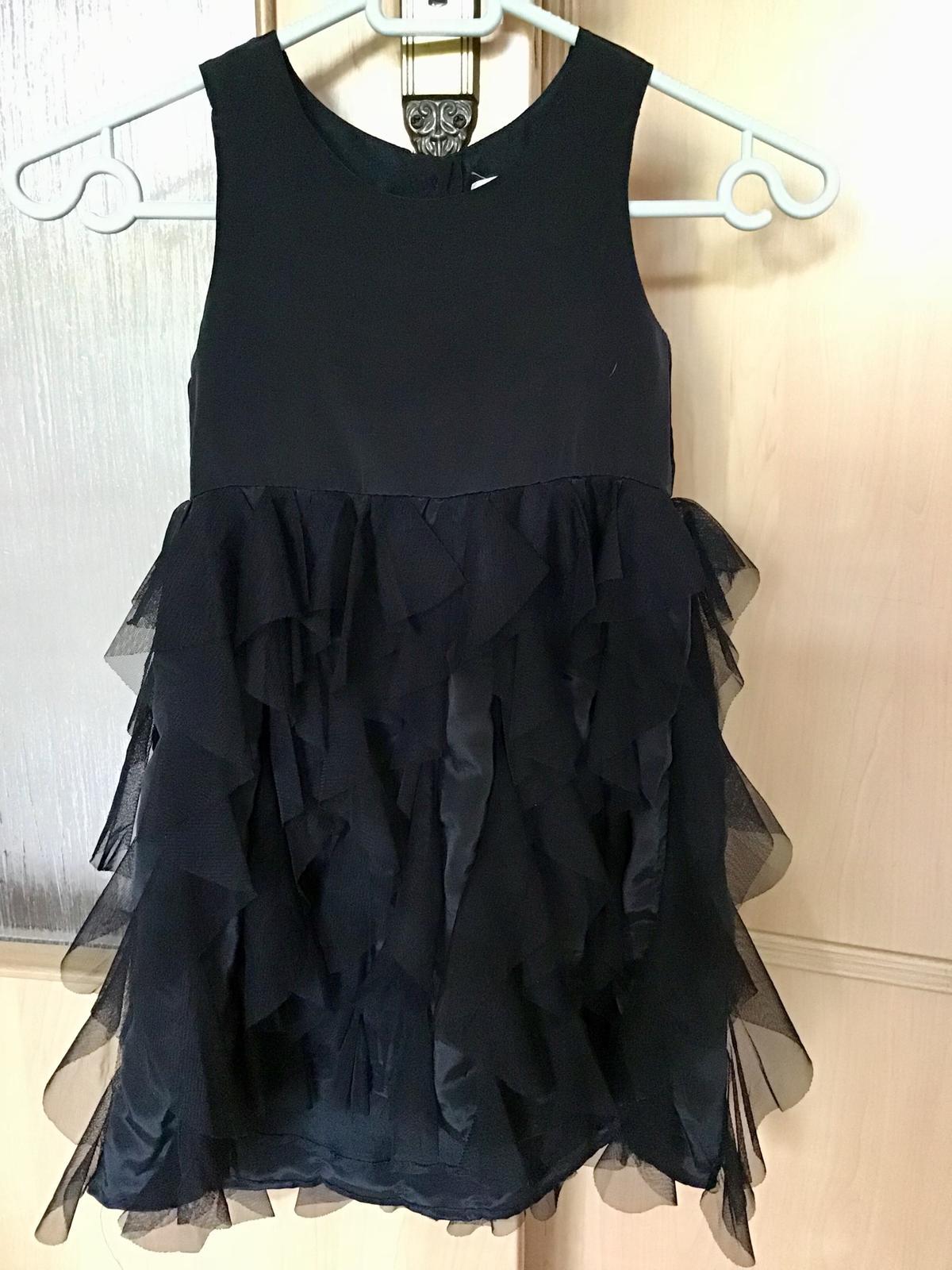 Volanove šaty H&M 4-5r. - Obrázok č. 1