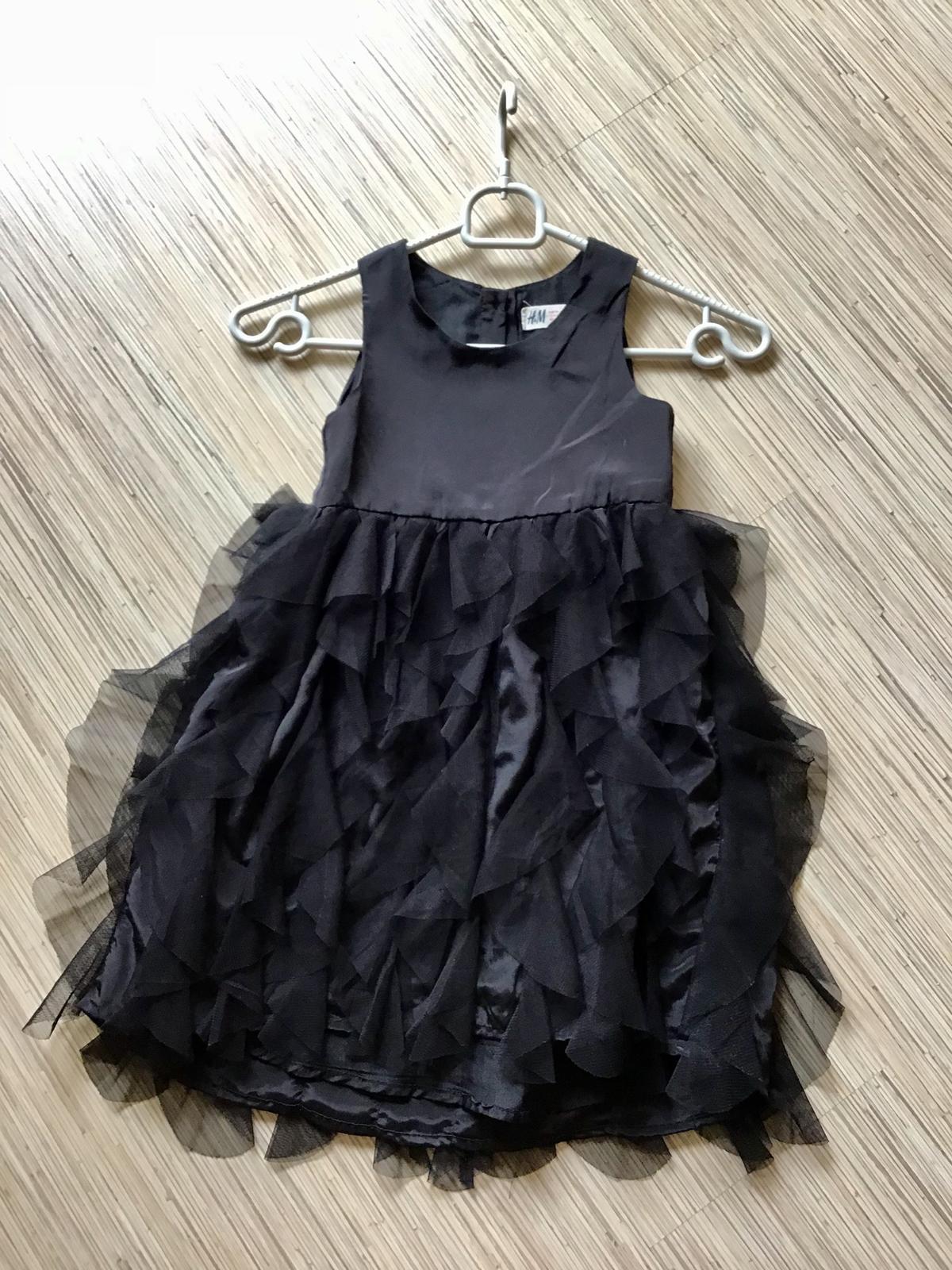Volanove šaty H&M 4-5r. - Obrázok č. 2