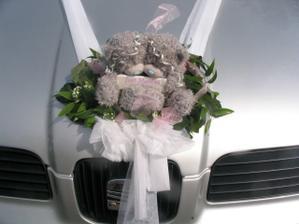 Ozdoba auta nevěsty