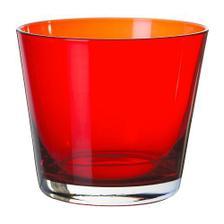 sklenička jako svícen v kuchyni (Ikea)