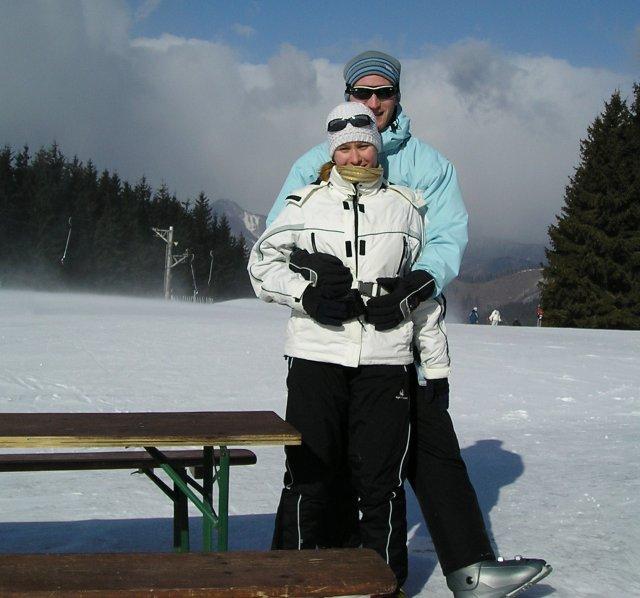 Naše prípravy :-) - vášnivý lyžiary :-)