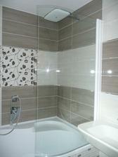 zastena otvorena na sprchovanie