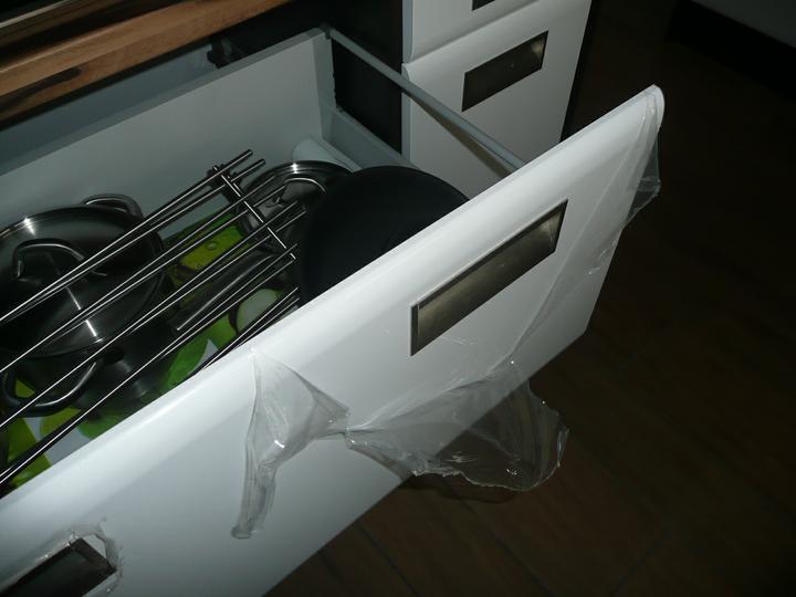 Kuchyno-obyvacka az kdesi do prirucnej pracovne - odbalujeme - ide sa pouzivat :)